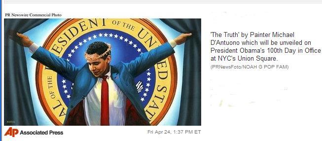 Obama_crusifixion