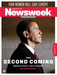 Obama_Newsweek Cover_Second Coming