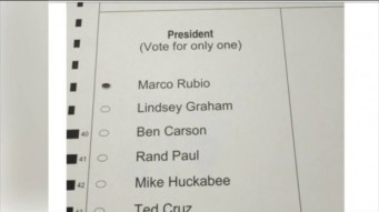 fake rubio ballot Virginia 3 1 16