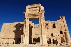 Temple of Baal_Palmyra Syria_razed by IS in 2015