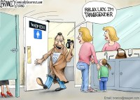 TransRestroom Cartoon
