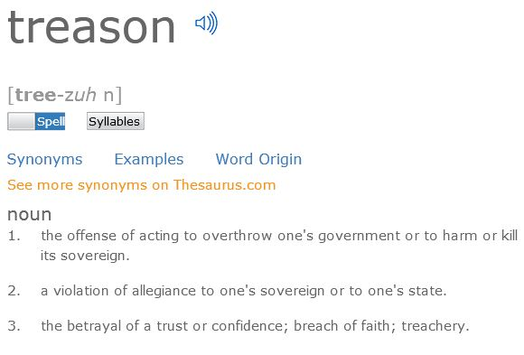 Treason definition