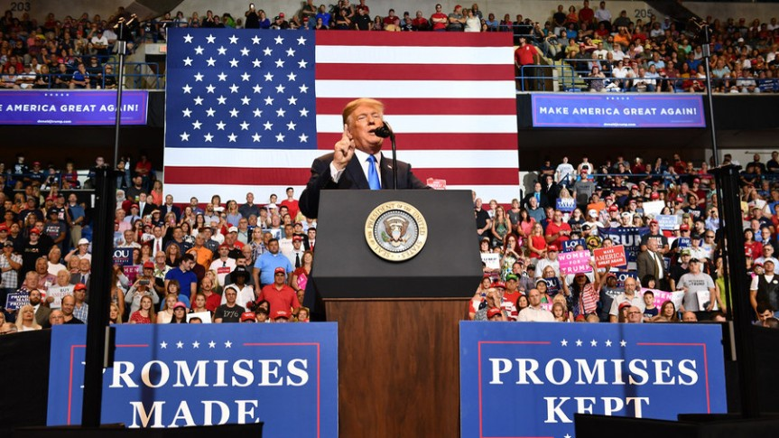 Rally Promises made promises kept