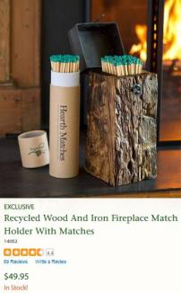 SB_Sponsors_PlowHearth_Fireplace Matches Box Set 200x325